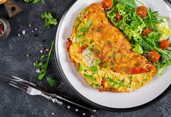 avokadolu omlet